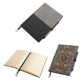 PIERRE CARDIN REPORTER SET of notepad and Celebration ballpoint pen