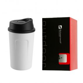 SCHWARZWOLF LIARD thermo mug in WHITE