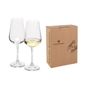 VS MORETON 2 - Set of two white wine glasses