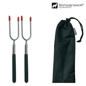 SCHWARZWOLF LIPNO telescopic forks for BBQ