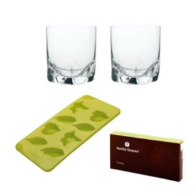 VS TULUFAN Silicone mould set with 2 glasses